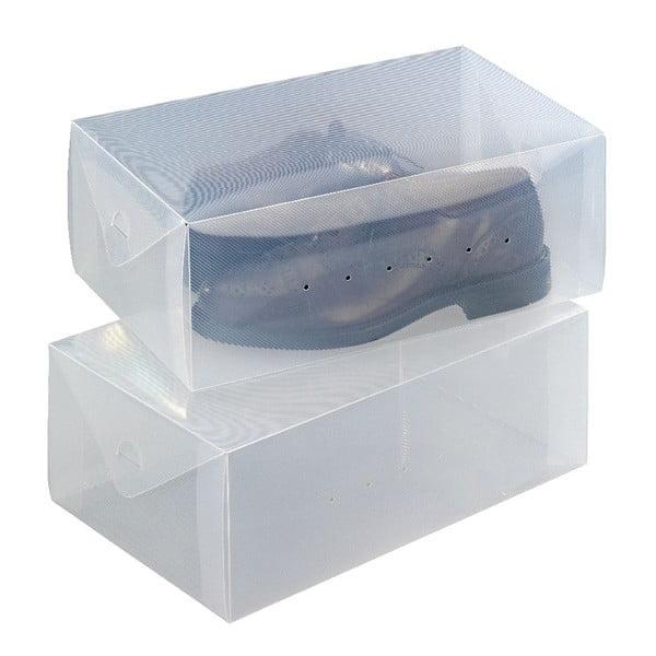 Zestaw 2 pojemników na buty Wenko Pack