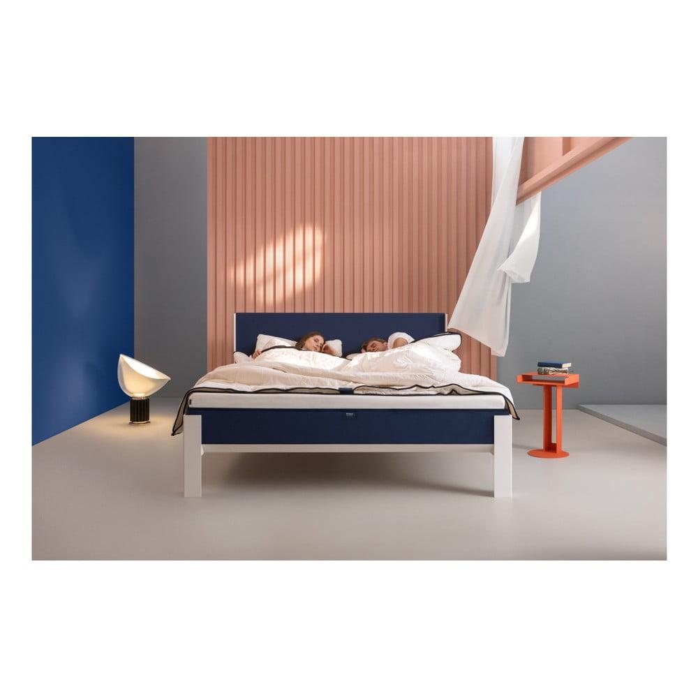 Biała Rama łóżka Muun 200x200 Cm Bonami