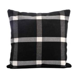 Poduszka Check Black, 40x40 cm