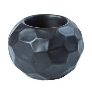 Czarny świecznik ceramiczny Speedtsberg Sira