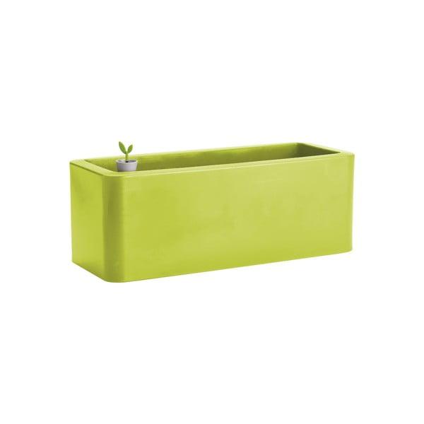 Doniczka Calypso Plus, zielona