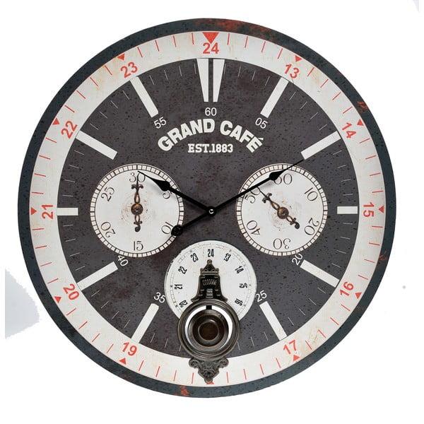 Zegar naścienny InArt Ocular, czarny