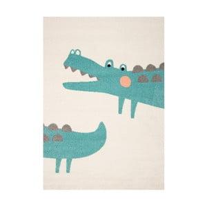 Dywan dziecięcy z motywem krokodyla Hanse Home, 170 x 120 cm