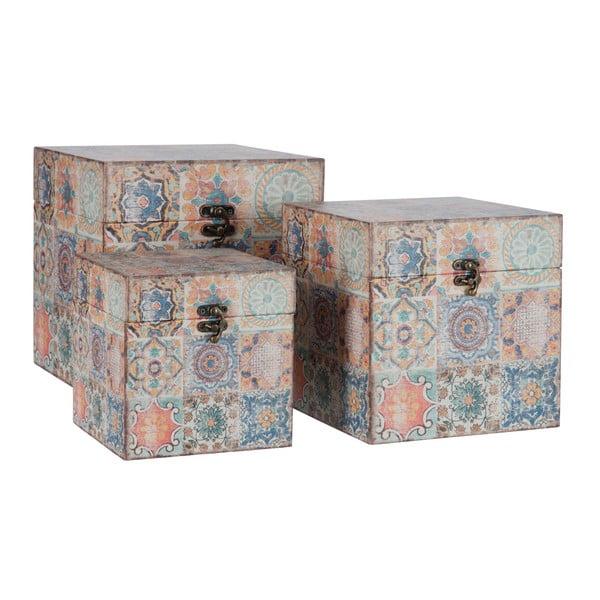 Zestaw 3 pudełek Orient
