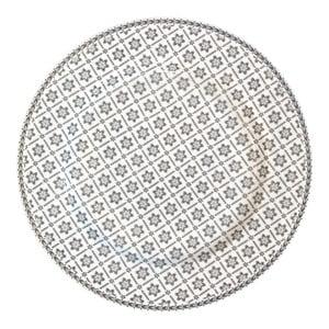 Talerz Alba Pale Grey, 25,6 cm