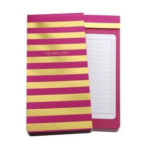 Organizer Go Stationery Wide Stripe Magenta