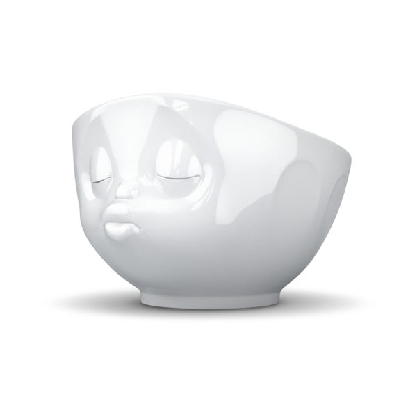 Biała porcelanowa całuśna miska 58products