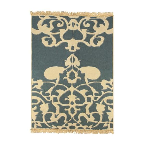 Niebieski dywan Floorist Agac Blue Beige, 60x90 cm