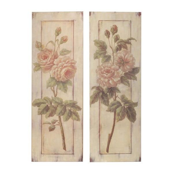 Zestaw 2 obrazów Two Roses