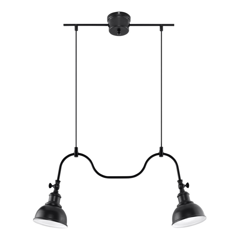 Czarna lampa wisząca Nice Lamps Isola 2