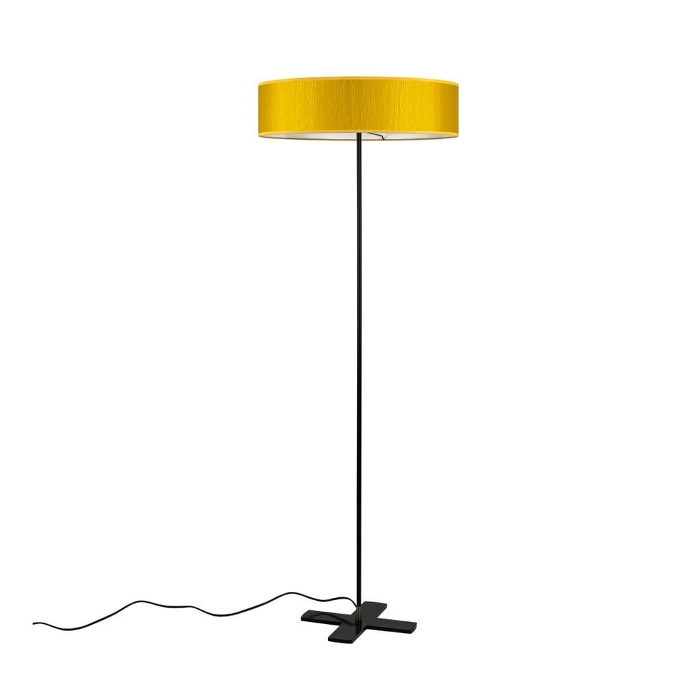 Żółta lampa stojąca Bulb Attack Doce