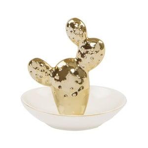 Miska dekoracyjna Sass & Belle Gold Cactus