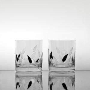 Szklanki Krople deszczu, 280 ml, 2 szt.