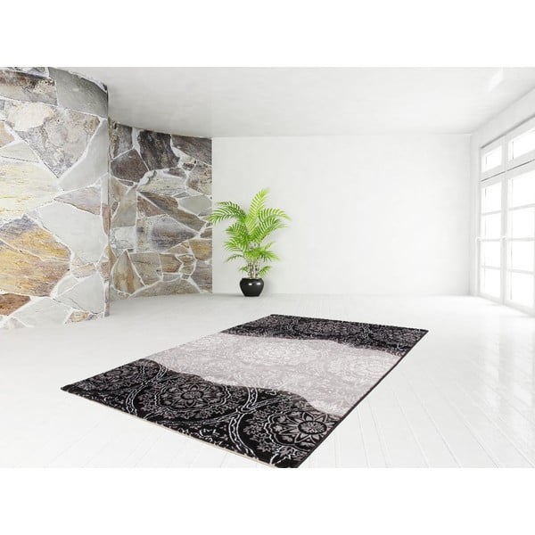 Dywan Dona Black, 120x170 cm