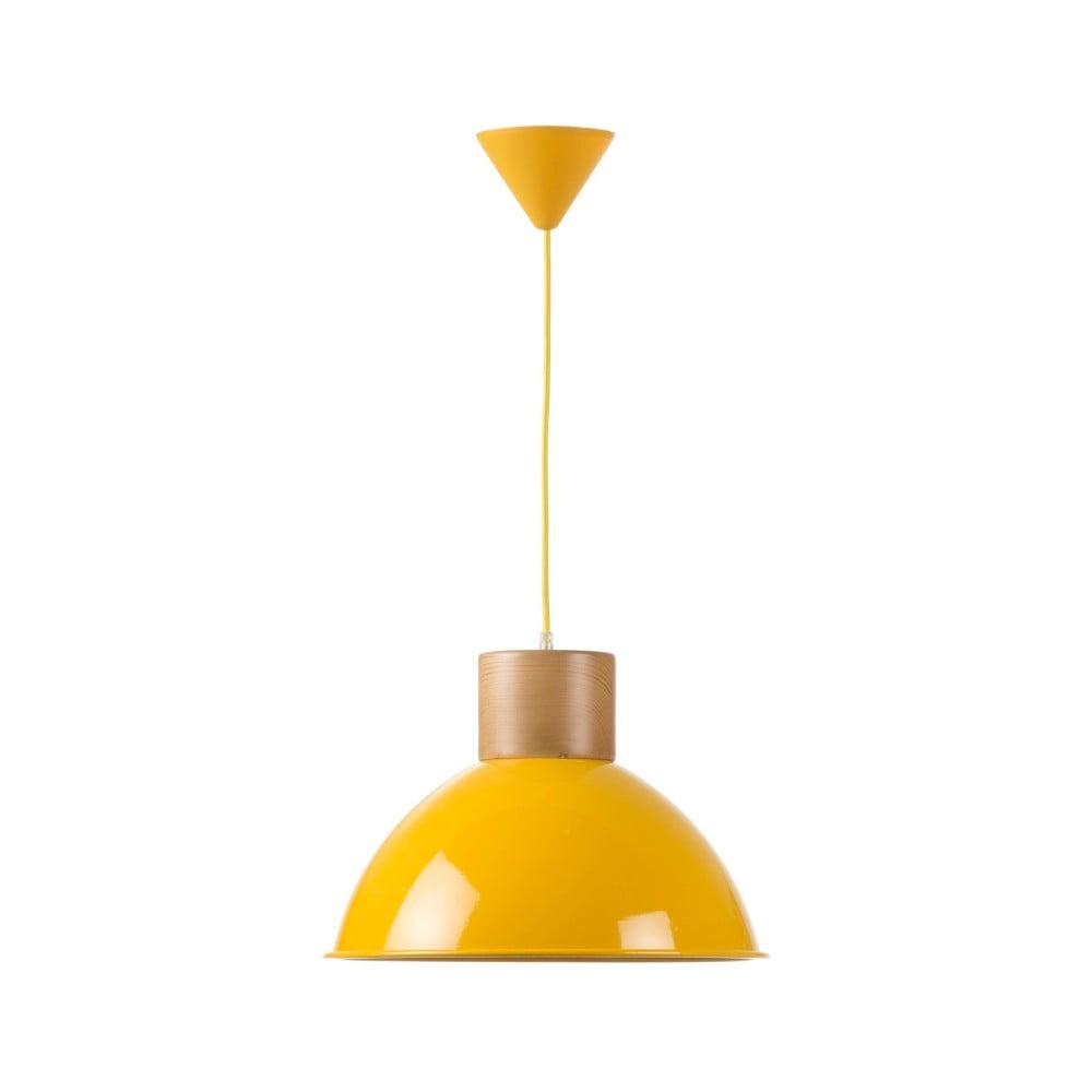 Żółta lampa wisząca Really Nice Things Madera
