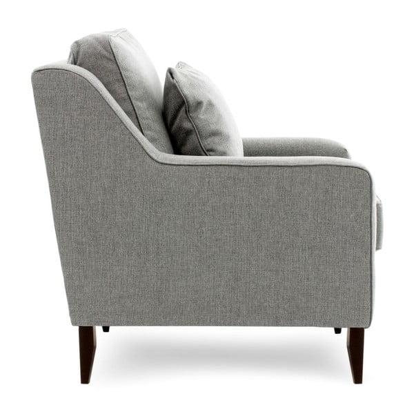 Szara sofa trzyosobowa Vivonita Bond