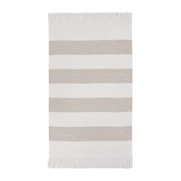 Kremowy ręcznik Aquanova Jolie, 30x50 cm