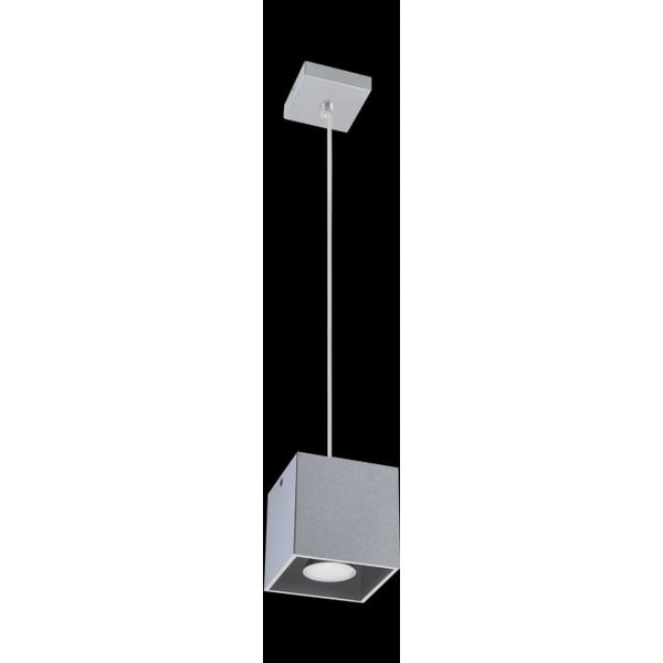 Szara lampa wisząca Nice Lamps Geo 1