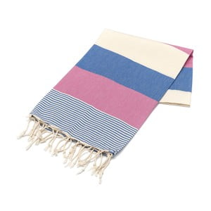 Ręcznik hammam American Fouta Pink, 100x180 cm