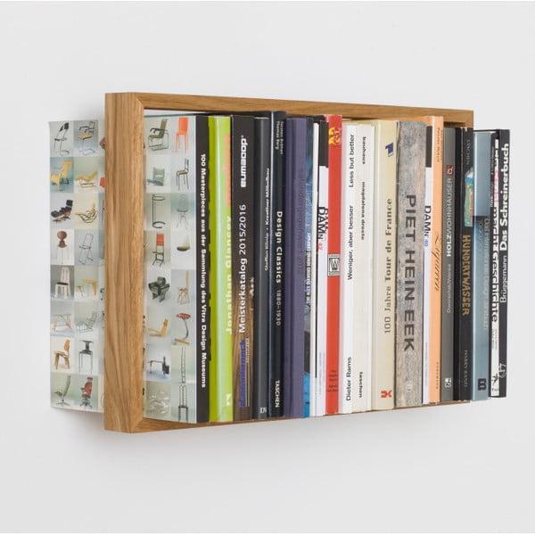 Półka na książki b8, 34x50,5 cm