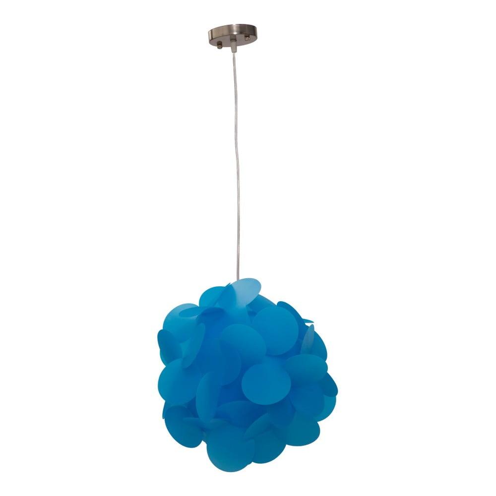 Niebieska lampa wisząca Mauro Ferretti Ball