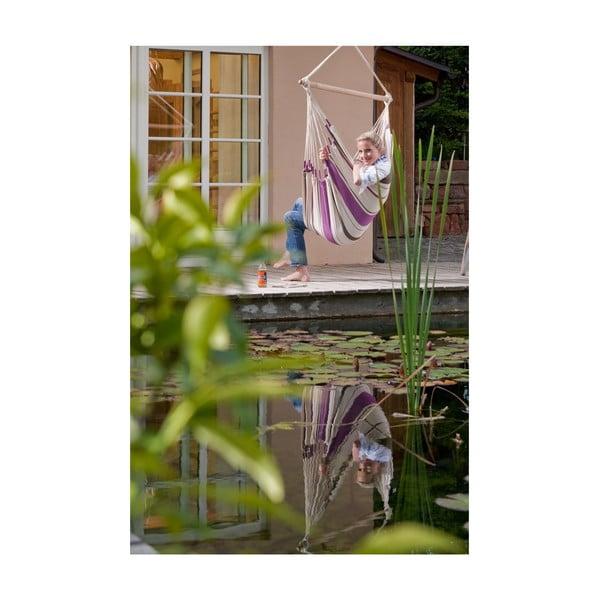 Krzesło-Hamak  Caribena, fioletowe