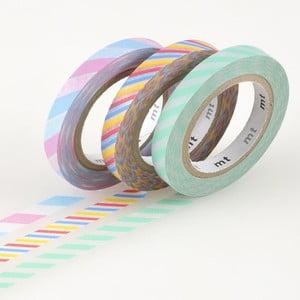 Zestaw 3 taśm dekoracyjnych washi Twist A