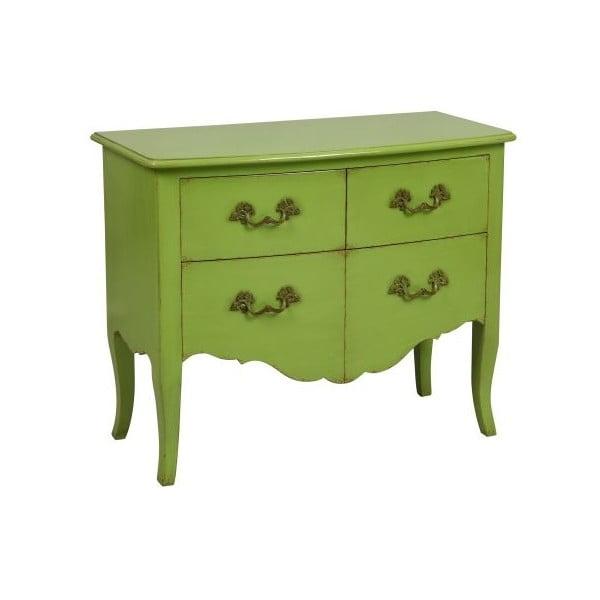 Komoda Tivoli Green, 95x78x46 cm