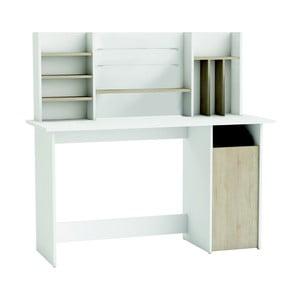 Białe biurko z regałem 13Casa Legal