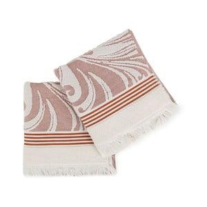Zestaw 2 ręczników Gennora, 50x100cm