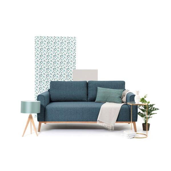 Niebieska sofa 3-osobowa Vivonita Milton