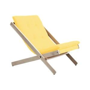 Fotel składany Karup Design Boogie Raw/Amarillo