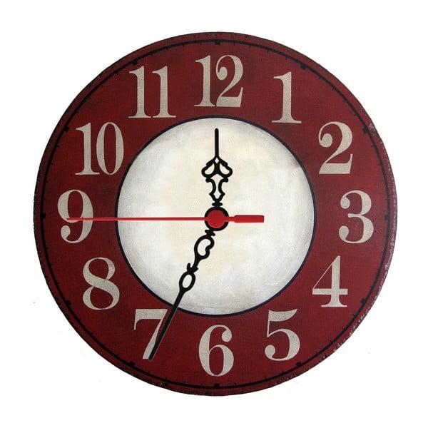 Zegar ścienny Red Trouble, 30 cm