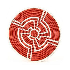Ręcznie robiona podkładka pod garnek All across Africa Opeyemi, Ø 25,4 cm