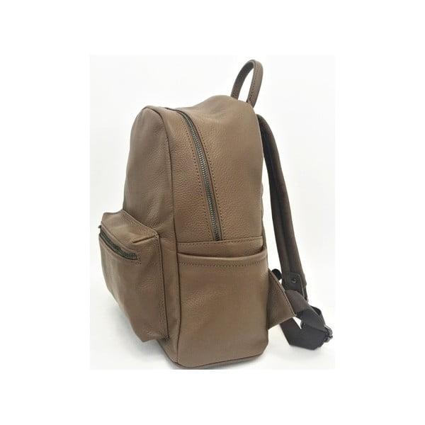 Skórzany plecak Momo Taupe