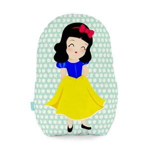 Poduszka bawełniana Mr. Fox Snow White, 40 x 30 cm