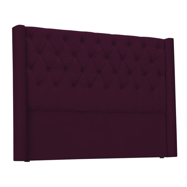 Czerwony zagłówek łóżka Windsor & Co Sofas Queen, 176x120 cm