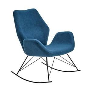 Niebieski fotel bujany House Nordic Nybro