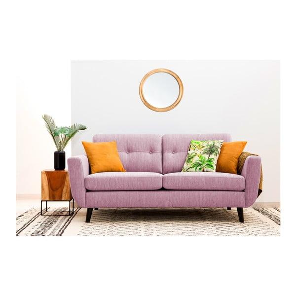 Jasnoróżowa sofa 2-osobowa Vivonita Harlem