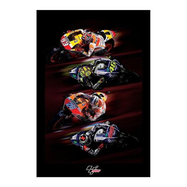 Tapeta wielkoformatowa Moto GP, 158x232 cm