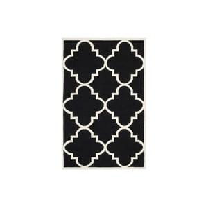 Dywan wełniany Alameda 152x243 cm, czarny