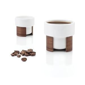 Zestaw filiżanek do espresso Warm Walnut, 8 cl, 2 szt.
