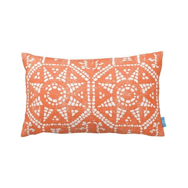 Pomarańczowo-biała  poduszka Homemania Orange Sun, 35x60cm