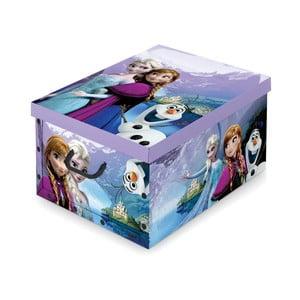 Pudełko na zabawki Domopak Frozen, 24x39cm