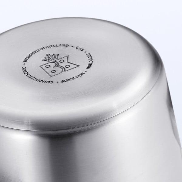 Garnek ze stali nierdzewnej do rosołu BK Cookware Conical+, 24cm