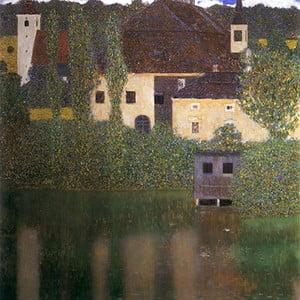 Reprodukcja obrazu Gustava Klimta - Water Castle 60x60 cm