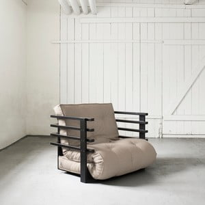 Fotel rozkładany Karup Funk Black/Vision