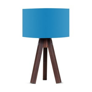 Lampa stołowa z niebieskim abażurem Kate Louise Kahve