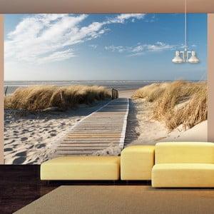 Tapeta wielkoformatowa Artgeist North Sea beach, Langeoog, 400x309cm