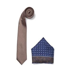 Zestaw krawata i poszetki Ferruccio Laconi 13